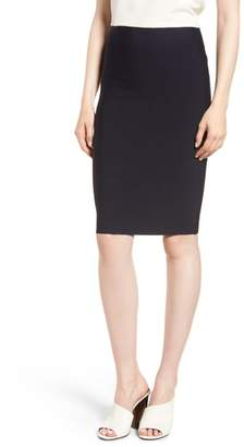Bailey 44 Poly Sci Pencil Skirt