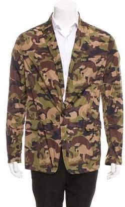 DSQUARED2 Camouflage Print Peak-Lapel Blazer