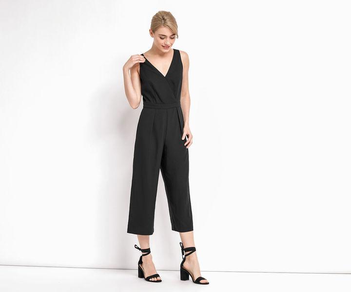 Oasis Crop Wide Leg Jumpsuit