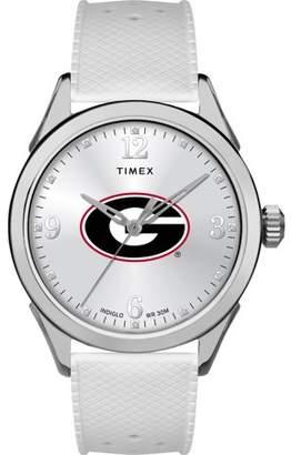 NCAA Georgia Bulldogs UGA Ladies Silcone Athena Watch