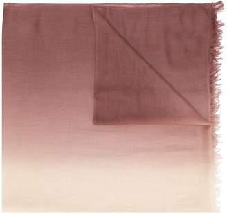 N.Peal dip dye scarf