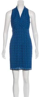 Andrew Marc Sleeveless Mini Dress