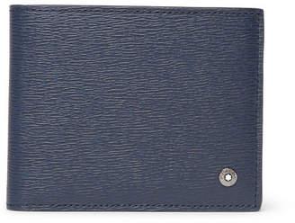 Montblanc 4810 Westside Textured-Leather Billfold Wallet - Men - Blue