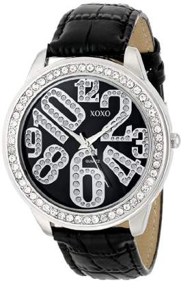 XOXO Women's XO3183 Dial Crocodile Genuine Leather Watch
