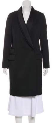 By Malene Birger Shawl Collar Knee-Length Coat
