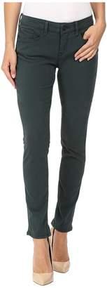 Mavi Jeans Alexa Mid-Rise Skinny in Pine Sateen Twill Women's Jeans