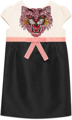 Children's cady dress with sequin embroidery $820 thestylecure.com