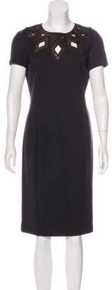 Andrew Gn Wool Midi Dress w/ Tags