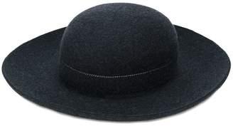 Comme des Garcons round felt hat