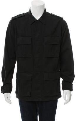 Saint Laurent Denim Utility Jacket