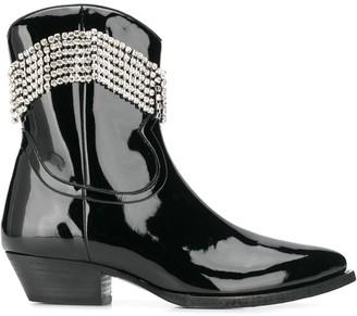 Chiara Ferragni embellished ankle boots