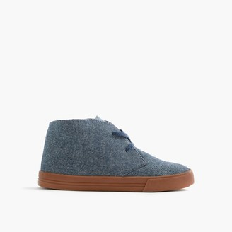 Kids' chambray MacAlister sneakers $78 thestylecure.com