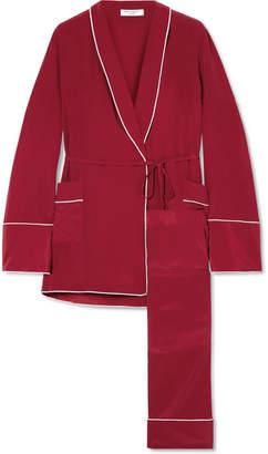 Equipment Theron Washed-silk Pajama Set