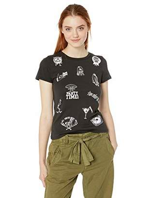20af7a66b at Amazon.com · Volcom Junior's Women's Last Party Short Sleeve Crew Neck  Tee