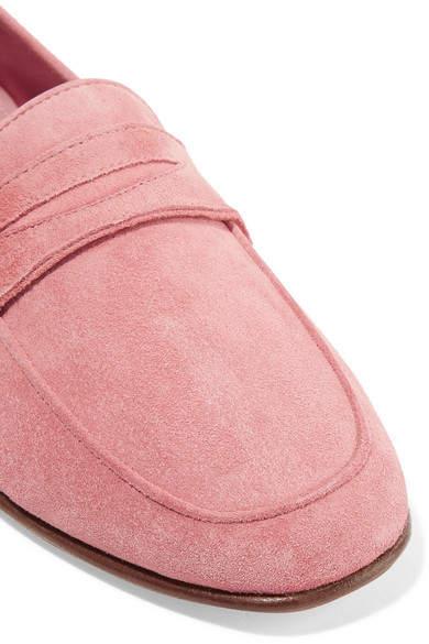Mansur Gavriel - Classic Suede Loafers - Pink 2