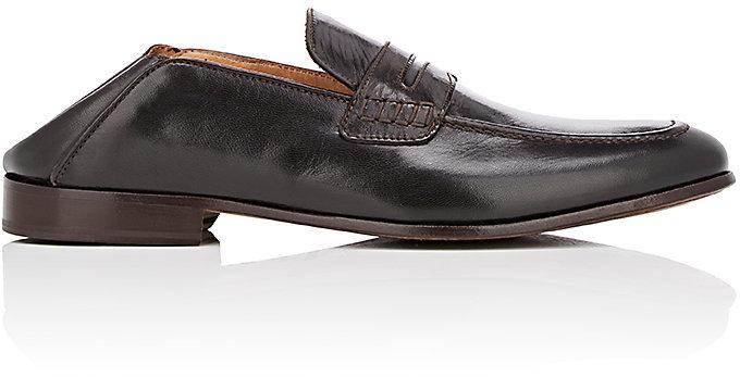 Barneys New YorkBarneys New York Men's Leather Penny Loafers