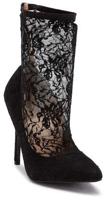 Chloé Chase & Lala Lace Heeled Bootie