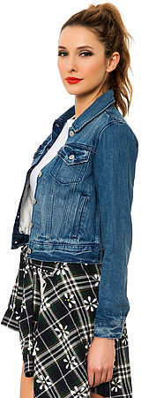 Levi's Levis The Authentic Trucker Denim Jacket in Rosebud Blue