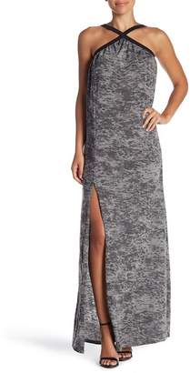 American Twist Sleeveless T-Strap Maxi Dress