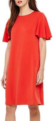 Phase Eight Sari Ruffle Sleeve Ponte Dress