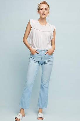 Amo Bella Ultra High-Rise Cropped Flare Jeans
