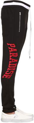 Paradise Embroidered Tech Track Pants