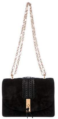 Altuzarra Chain-Link Suede Ghianda Shoulder Bag