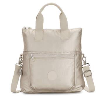 Kipling Eleva Metallic Convertible Tote Bag