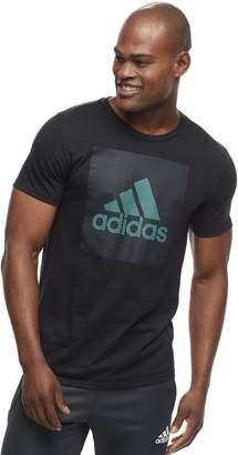 adidas Men's Mesh Logo Tee