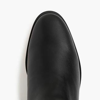 J.Crew Sherpa-lined Chelsea boots in leather