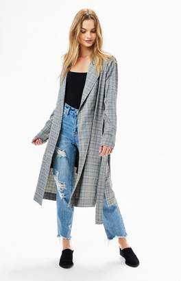 Lucca Couture Charlee Belted Trench Coat