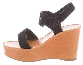 Robert Clergerie Ankle Strap Wedge Sandals