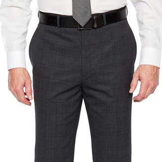 Claiborne Windowpane Stretch Classic Fit Suit Pants