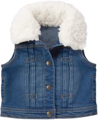Crazy 8 Crazy8 Sherpa Jean Vest