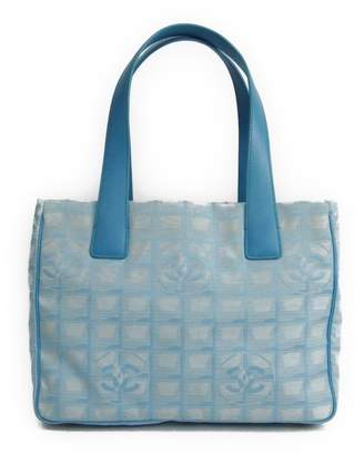 Chanel Blue Nylon New Travel Line Tote (SHA11681)