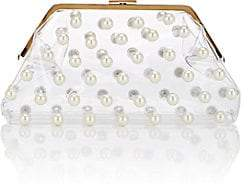 Barneys New York Women's Embellished Clutch