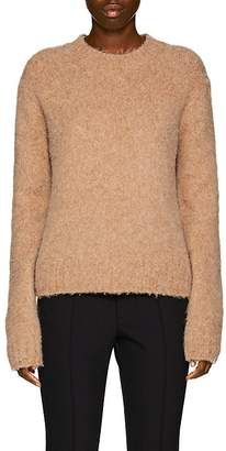 Helmut Lang Women's Brushed Wool-Blend Crewneck Sweater