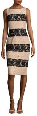 JS Collections Two-Tone Stripe Dress