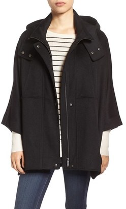 Halogen ® Snap Front Hooded Cape $159 thestylecure.com