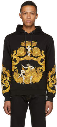 Versace Black and Gold Angels Hoodie