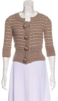 Hanii Y Wool Long Sleeve Cardigan