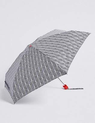 """Marks and Spencer Printed Compact Umbrella with Stormwearâ""""¢"""