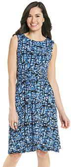 Jessica Howard Print Knit Dress