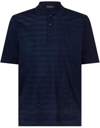 Paul & Shark Tonal Diamond Polo Shirt