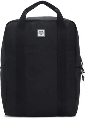 Opening Ceremony Black Logo Tote Backpack