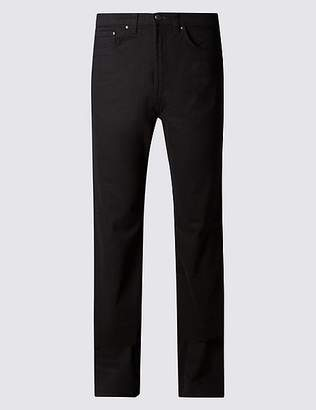 "Marks and Spencer Regular Fit Stretch StayNewâ""¢ Jeans"
