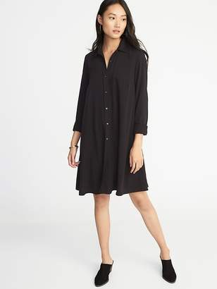 Old Navy Swing Shirt Dress for Women