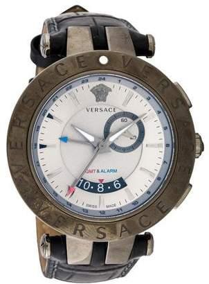 Versace V-Race GMT Alarm Watch