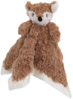 Cuddle Me Luxury Plush Security Blanket Brown Fox Bedding