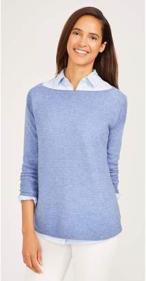 J.Mclaughlin Kingsley Cashmere Sweater in Stripe